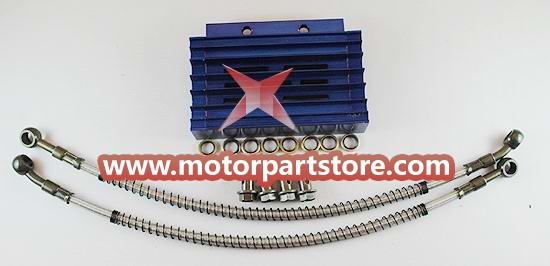The dirt bik radiator fit for the 110 to 150cc