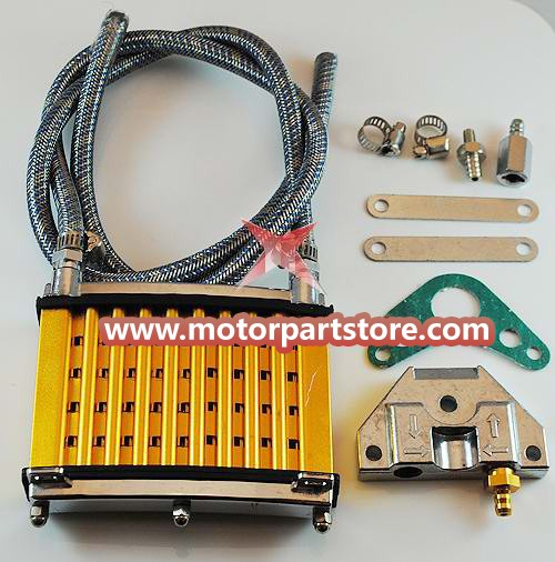 The dirt bike oil cooler fit for the 110to 150cc