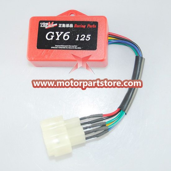 New 6-Pin Double Plug CDI Fit For  GY6 50-150 Atv