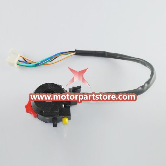 High Quality Black 3-Function Left Switch Assembly For Atv