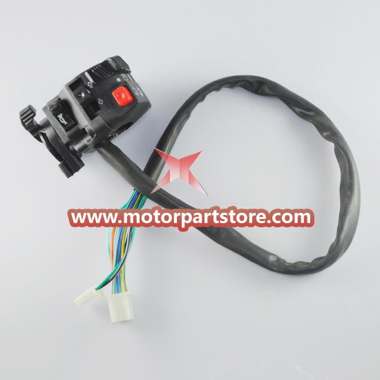 High Quality 5-Function Left Switch Assembly With Choke Lever
