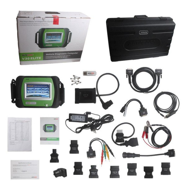 Original AUTOBOSS V30 Elite Diagnose Scanner Update Online