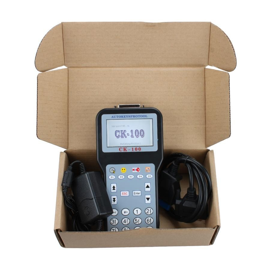 V45.06 CK-100 CK100 Auto Key Programmer With 1024 Tokens Add New Car Models(Ford, Honda and Toyota)