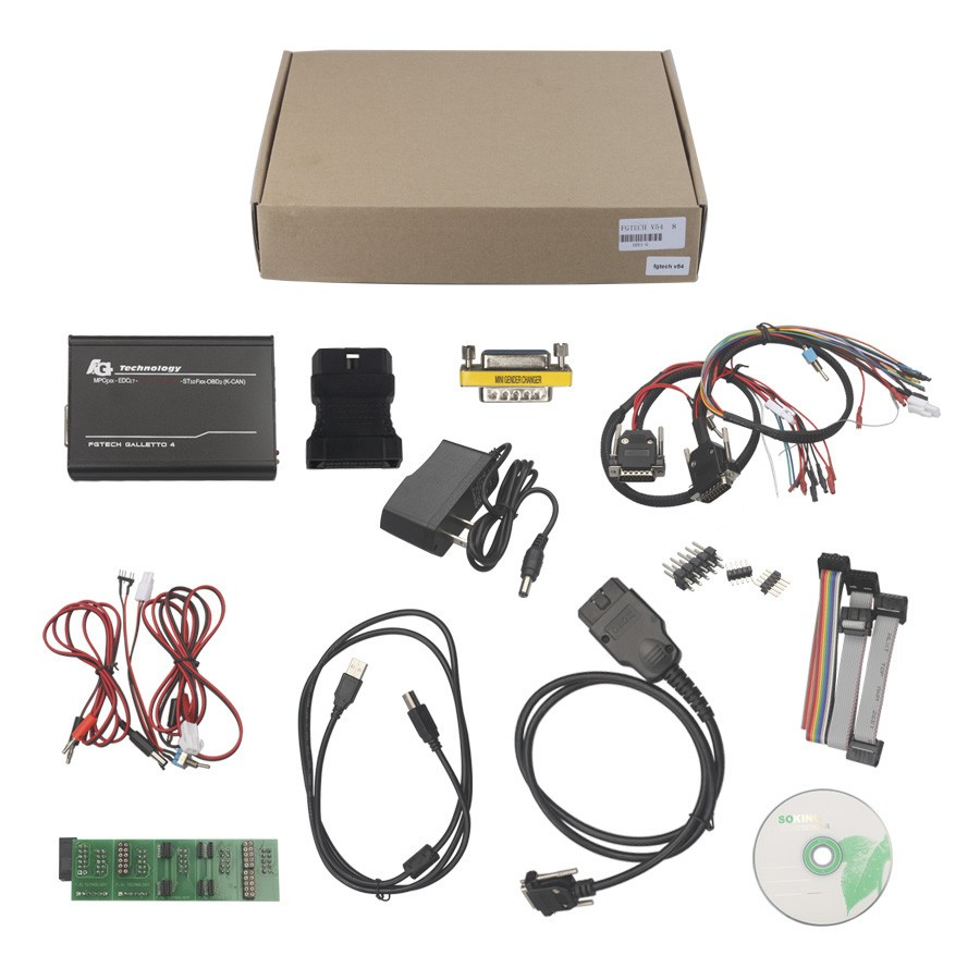 Best V54 FGTech Galletto 4 Master BDM-Tricore-OBD Function ECU Programmer With Multi Language