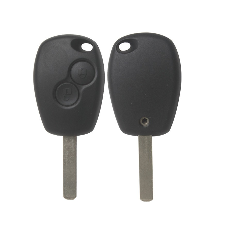2 Button Remote Key Shell for Renault