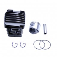 Cylinder Head Piston Kit For Stihl 46mm 029 MS290 039 MS390 Piston Pin Rings Circlip