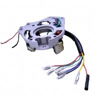 ATV Quad Stator Ignition Magneto Plate fit for 50 110 125cc Chinese 2 Coil Kazuma