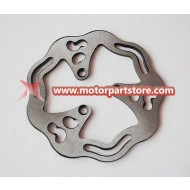 The brake disc fit for water cooled pocket bike