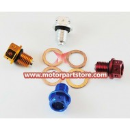 Oil Drain Bolt with magnetism for 50cc-125cc ATV