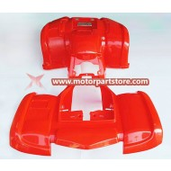 High Quality Front Rear Plastic Fender Set For 150cc To 250cc Atv