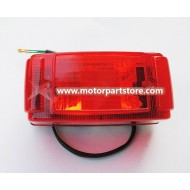 New Red Tail Light Fit For 150 to 250cc Atv Big Bull