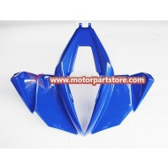Hot Sale Blue Front Fender Plastic Cover For 110cc-250cc Atv