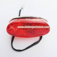 HIgh Quality Red Polaris Tail Light Fit For 125cc to 250cc Atv