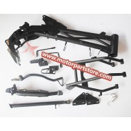Hot Sale Black Frame Kit For Klx Dirt Bike