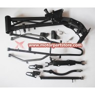 New Black Single Frame Kit For Crf Dirt Bike
