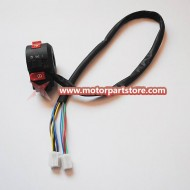 New Black Atv Kill Light Starte Choke Switch Quad
