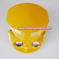 Head light fit for dirt bike