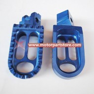 CNC footpeg for dirt bike