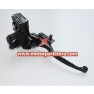 Hot Sale Black Right Brake Pump With Brake Lever