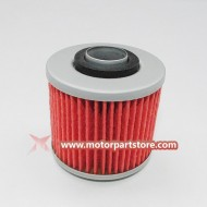 Hot Sale Red Oil Filters For Yamaha Grizzly 600 4x4 Yfm600 Atv