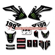 3M GRAPHICS STICKERS HONDA CRF50 CRF50F 2004-2012