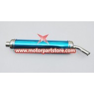 The muffler fit for 2 stroke pocket and dirt bike