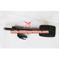The throttle padel fit for 110cc to 150cc go karts