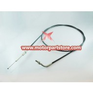 The brake cable for the GY6 150CC go-kart.