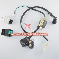 Electrical parts for 110CC dirt bike