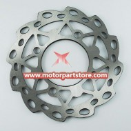 The  brake disc fit for the dirt bike