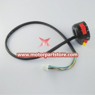 Hot Sale Black 3-Function Left Switch Assembly For Pocket Bike And Atv