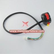 Hot Sale Black 3-Function Left Switch Assembly For Pocket Bike And Atv
