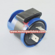 2 Plugs Black Flasher for  Scooter