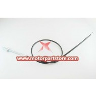 The front drum brake cable for the 110CC dirt bike