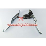 The brake lever with clutch lever  for dirt bike