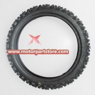 60/100-14 Front Tire for 50cc-125cc Dirt Bike.