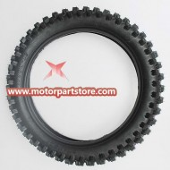 90/100-16 Rear Tire for 50cc-125cc Dirt Bike.