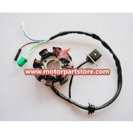 New 8-Coil Magneto Stator For GY6 125-150 Atv