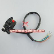 New Black 4-Function Left Switch Assembly With Hand Choke