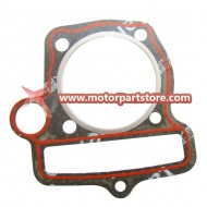 The gasket fit for YX140 dirt bike