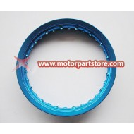 12 x 1.6 front alloy rim fit for dirt bike