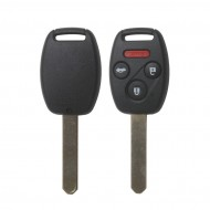 Remote Key (3+1) Button And Chip For 2005-2007 Honda