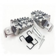 Footrest Footpegs Foot Peg Set For Yamaha PW50 PW80 TW200 PW 50 80 TW 200 Dirt Bike