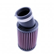 52mm Universal Round Straight Rubber Air Filter Replacement K&N RU-1780
