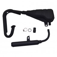 Exhaust Silencer Muffler Pipe For 50PY PW50 PY50