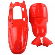 Red Plastic For Yamaha Pw80
