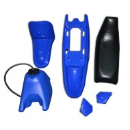PLASTIC SEAT GAS TANK KIT for Yamaha 50PY PW50