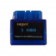 V1.5 Mini ELM327 ELM 327 OBD2 Bluetooth Interface Auto OBDII Diagnostic Scanner