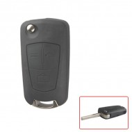 Modified Flip Remote Key Shell 3 Button (HU43) for Opel
