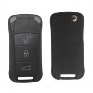 Flip Remote Key Shell 3 Button for Porsche
